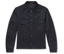 Stretch-wool Twill Jacket