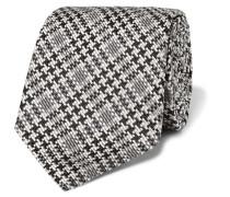 8cm Checked Silk Tie