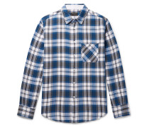 Fit 3 Checked Cotton Shirt