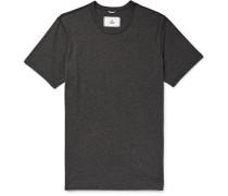 Mélange Ring-spun Cotton-jersey T-shirt