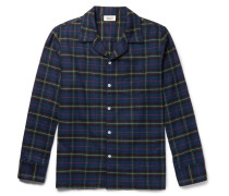 Henry Checked Cotton-flannel Pyjama Shirt