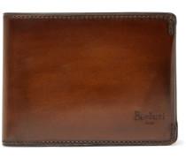 Polished-leather Billfold Wallet