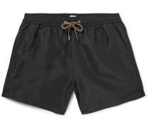 Slim-fit Mid-length Swim Shorts
