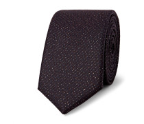 5cm Wool And Lurex-blend Tie