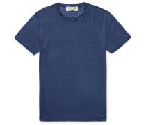 Slim-fit Slub Linen-jersey T-shirt