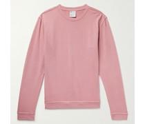 Garment-Dyed Cotton-Jersey Sweatshirt