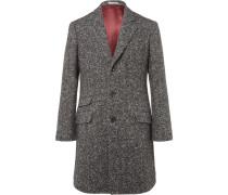 Herringbone Virgin Wool And Cashmere-blend Coat