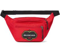 Explorer Logo-Appliquéd Nylon Belt Bag