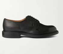 Archie II Cross-Grain Leather Derby Shoes