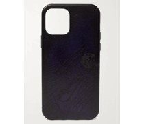 Scritto Leather iPhone 12 Case