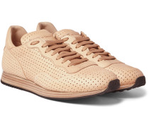Keino Perforated Leather Sneakers