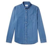 Levon Button-Down Collar Tencel Shirt