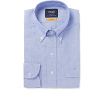 Easyday Slim-Fit Button-Down Collar Cotton Oxford Shirt