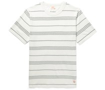 Barnaby Logo-Appliquéd Striped Cotton-Jersey T-Shirt