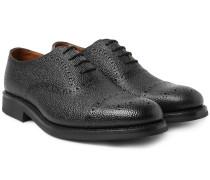 Matthew Pebble-grain Leather Oxford Brogues