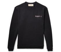 Olde Whale Printed Loopback Cotton-jersey Sweatshirt