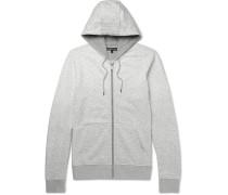 Dégradé Loopback Cotton-jersey Zip-up Hoodie