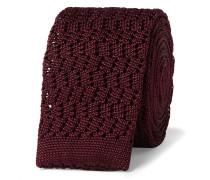 5cm Knitted Silk Tie