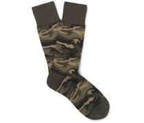 Camouflage Knitted Socks