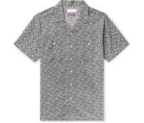 + Liberty London Camp-Collar Printed Linen and Cotton-Blend Shirt
