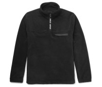 Fleece Half-zip Sweatshirt