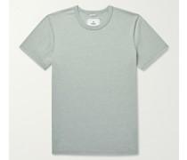 Copper Cotton-Blend Jersey T-Shirt