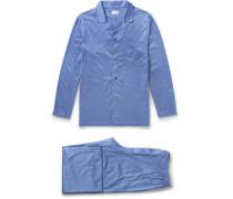 Bari Cotton-jersey Pyjama Set