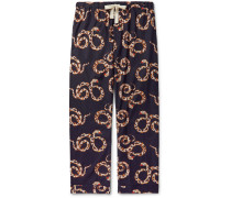 Printed Organic Cotton Pyjama Trousers