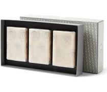 Set Of Three Neroli Soap Bars, 3 X 75g