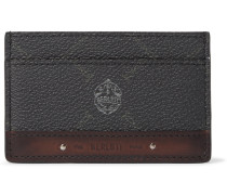 Signature Canvas and Leather Cardholder