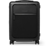 M5 55cm Polycarbonate, Nylon and Leather Carry-On Suitcase