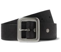 3.5cm Burlington Distressed Leather Belt