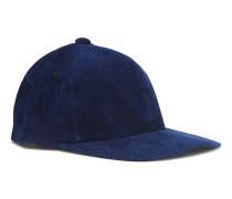 Indigo-dyed Cotton-corduroy Baseball Cap