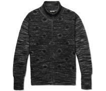 Jacquard-knit Cardigan