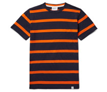 Niels Striped Cotton-jersey T-shirt