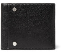 Arena Creased-leather Billfold Wallet