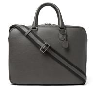 Soft Avietta Full-grain Leather Briefcase