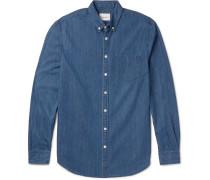 Masters Button-down Collar Denim Shirt