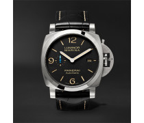 Luminor Marina 1950 3 Days Acciaio 44mm Stainless Steel And Alligator Watch
