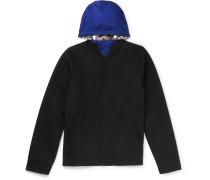 Virgin Wool And Cashmere-blend Felt Varsity Jacket
