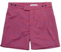 Janelas Printed Mid-length Swim Shorts