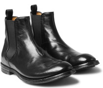 Anatomia Polished-leather Chelsea Boots