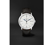 Classima Automatic 40mm Stainless Steel and Alligator Watch, Ref. No. 10214