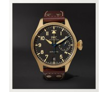 Big Pilot's Heritage Limited Edition Automatic 46mm Bronze and Leather Watch, Ref. No. IW501005