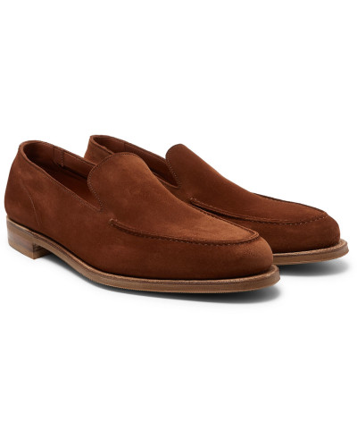 Islington Suede Loafers - Light brown
