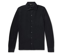 Slim-Fit Wool Shirt