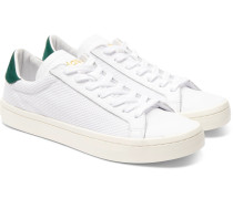 Court Vantage Leather And Mesh Sneakers
