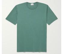 Johannes Garment-Dyed Organic Cotton-Jersey T-Shirt