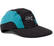 Logo-Print Shell Baseball Cap