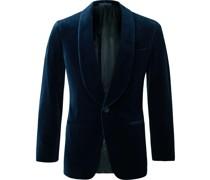 Slim-Fit Cotton-Velvet Tuxedo Jacket